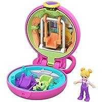Polly Pocket- Diversión en el Parque Mini Cofre con Muñecas y Accesorios (Mattel GKJ42) , color/modelo surtido
