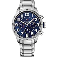 Tommy Hilfiger Analogue Silver Dial Men's Watch -1791053