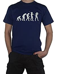 Evolution Photographer T-Shirt Funny (photography / camera) DSLR User
