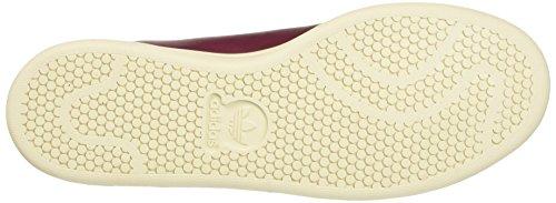 adidas Stan Smith Nude, Sneaker a Collo Basso Donna Rosso (Collegiate Burgundy White)