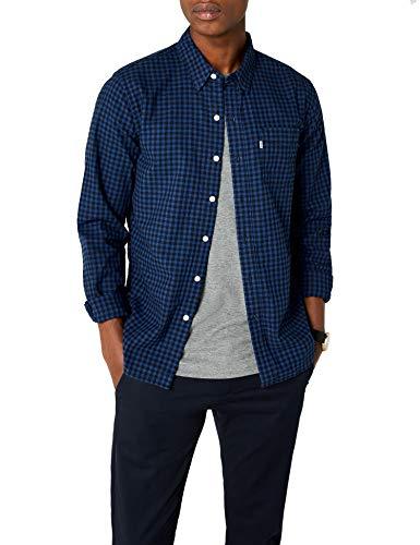 Levi's Sunset 1 Pocket Shirt, Chemise Casual Homme - Bleu (Mentha2 Indigo 0344) - Larg