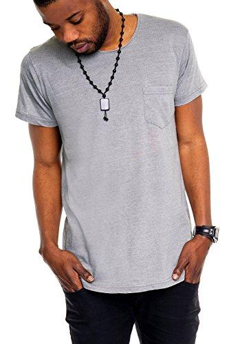 Sublevel -  T-shirt - Maniche corte  - Uomo grigio S