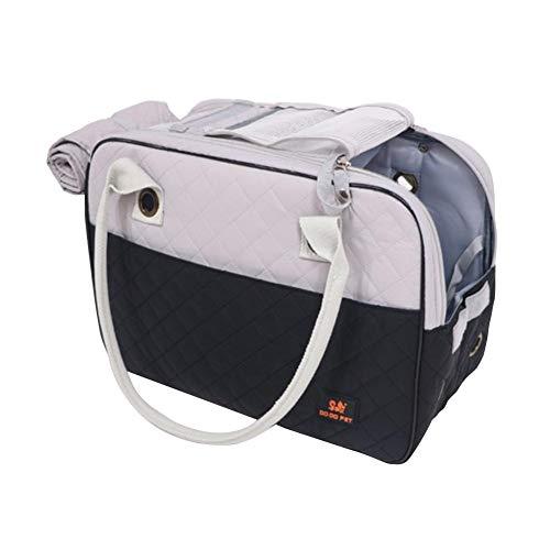 Welltobuy fashionable pet carrier bag portable anti-extrusion per viaggiare full cane gatto all' aperto borsa chiusa