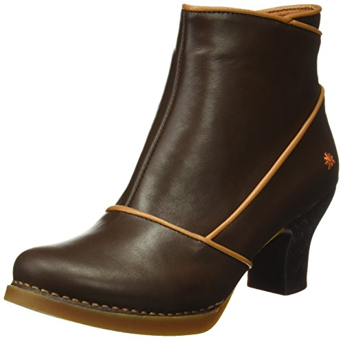 Art Damen Harlem Kurzschaft Stiefel, Braun (Star Brown-Cuero), 38 EU (Botines De Cuero)