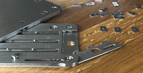 steelwallet mnemonic Kalten Aufbewahrungsmappe für kryptowährung