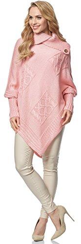Merry Style Damen Poncho MSSE0021 Puderrosa