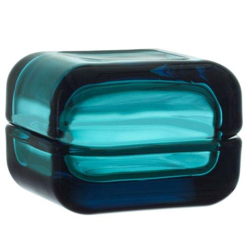 Iittala 111156 Vitriini - Caja pequeña con tapa (cristal, 60 x 60 mm)