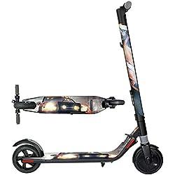 SMILEQ Scooter eléctrico Todo el Cuerpo Pegatinas Impermeables Cinta Adhesiva para Ninebot Es1 Es2
