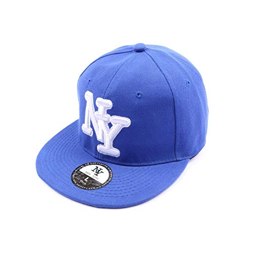 Casquette fitted Bleue - Mixte