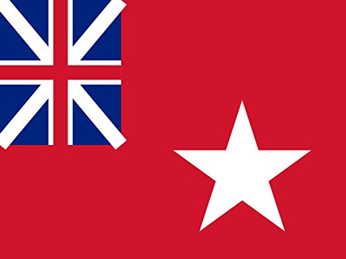magFlags Flagge: Large DBWF | Dominion of British West Florida | Querformat Fahne | 1.35m² | 100x130cm » Fahne 100% Made in Germany