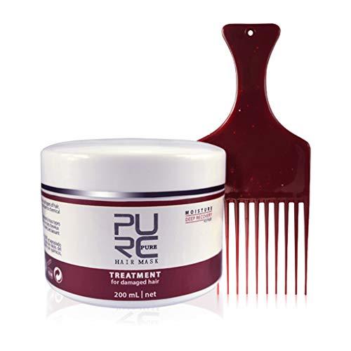 Gjyia 1pc Haarmaske Behandlung für beschädigtes