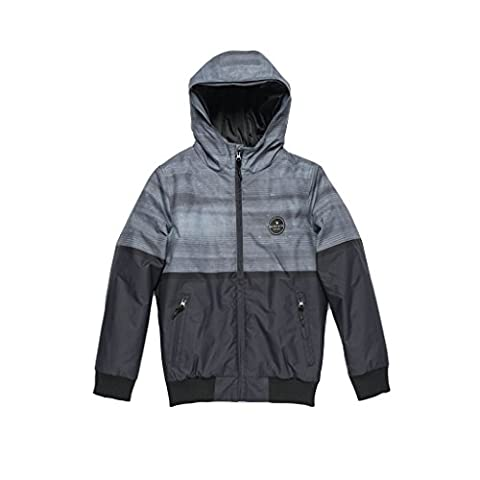 Rip Curl Mountain Jacket Veste Garçon, Charcoal, FR : 10