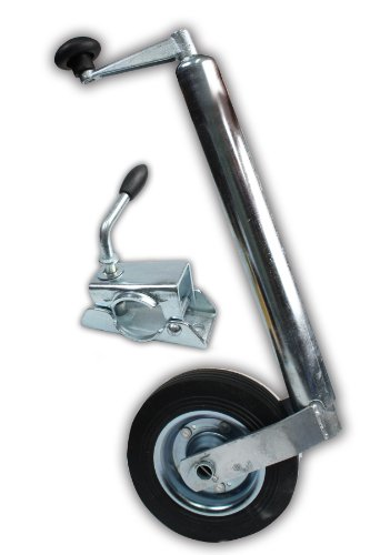XL-Perform-Tool-553928-Roue-Jockey-avec-Fourche-48-mm-plus-Bride