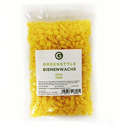 Bienenwachs gelb - 100g - von greenstyle Test