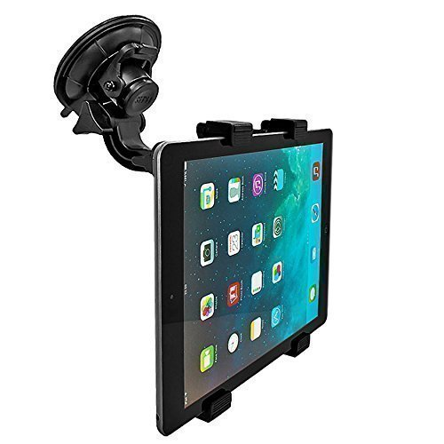 mobilefox® 360° KFZ Halterung Tablethalterung Auto Halterung Car Holder Halter für Tablet PC Apple iPad / Air 2 / Air / 4 / 3 / 2 - iPad mini 3 / mini 2 / mini