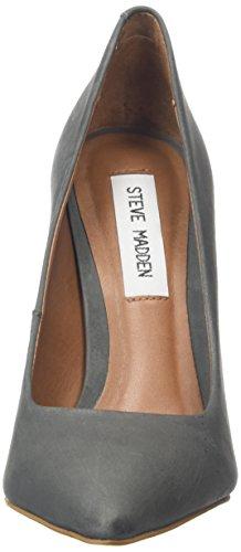 STEVEN by Steve Madden Primpy Pump, Escarpins Bout Ouvert Femme Gris (Grey)