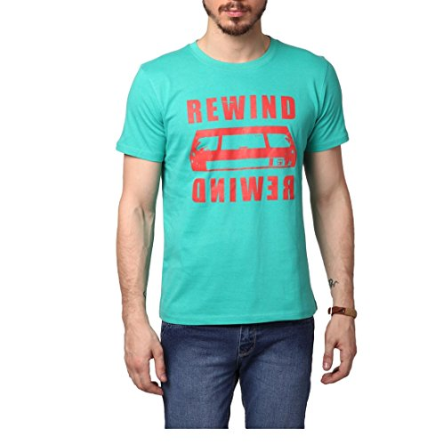 Yepme Men's Green T-Shirt-YPMTEES0430_S  available at amazon for Rs.199