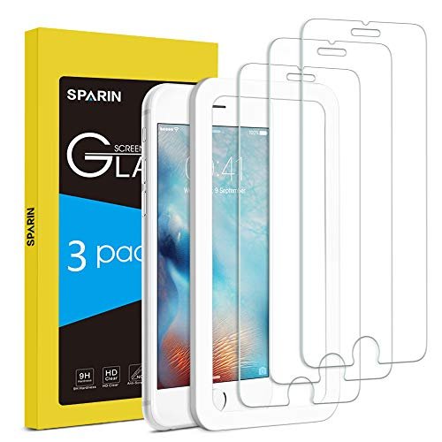 [3-Pack] Protector Pantalla iPhone 6s,...
