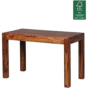 Design Esstisch Holz Massiv 120 X 60 X 76 Cm   Moderner Esszimmertisch  Sheesham Palisander Für 4   6 Personen Massivholz   Holztisch Rechteckig    Landhaus ...
