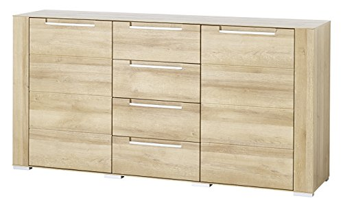 Paul DORRA61020 Sideboard, Holz, braun, 41 x 170 x 87 cm