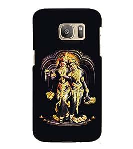 Vrishaparvaa Krishna 3D Hard Polycarbonate Designer Back Case Cover for Samsung Galaxy S7 Edge :: Samsung Galaxy S7 Edge Duos G935F