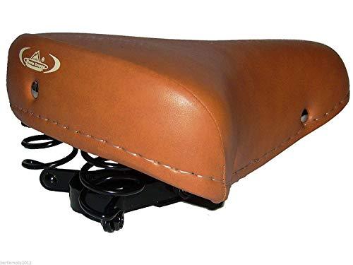 Sella MONTEGRAPPA con Molle ECO PELLE ideale per Bici Graziella - Epoca - Vintage