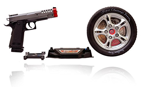 Planet of Toys Turntable Shoot Game With Infrared Gun For Kids, Children  available at amazon for Rs.519