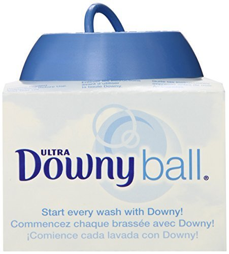 Downy Ball, Fabic Softener Dispenser (Pack of 3) by downy (English Manual)