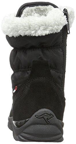 Kangaroos Unisex-Kinder Cupy  Kurzschaft Schneestiefel Schwarz (black 500)