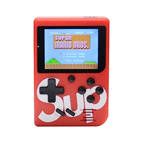 nsole Klassisches Spiel, 3-Zoll-Bildschirm-TV-Videospielkonsole und 1 Joystick-Controller für Kinder zum Erwachsenen-Geburtstagsgeschenk ()