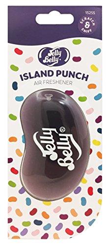 Jelly Belly Lufterfrischer 15255 Island Punch, Jelly-Bean-3D-Form (Bean-form Jelly)