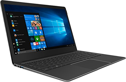 TrekStor 34957 (14,1 Zoll) 35,81 cm Notebook (Intel Pentium-4 N4200, 256GB SSD, 4GB RAM, Intel HD Graphics 505, Win 10 Home) Silber