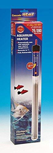 American Paws Pet Products Aquariumheizung mit Thermostat, 300 W, voll tauchbar, für Frisch- und Salzwasser, für Aquarien -