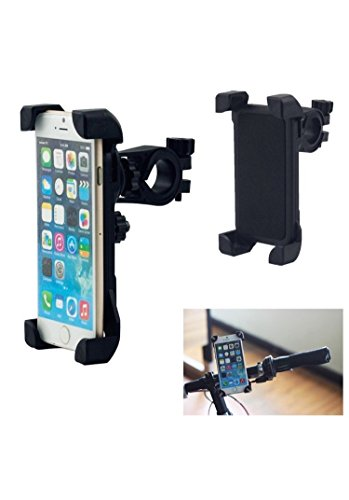 adjustable 360 degree bike / bicycle handlebar mount universal mobile phone holder [black] Adjustable 360 degree Bike / Bicycle Handlebar Mount Universal Mobile Phone Holder [Black] 41oUXO6 2BxBL