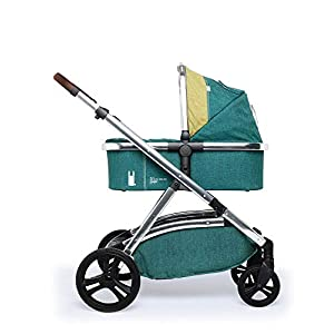 Cosatto Wow XL 3-in-1 Pram and Pushchair, Suitable from Birth - 25 kg, with Tandem Mode and Buggy Board- Hop to It Cosatto Includes - Pushchair, Carrycot, Port Car seat, adaptors and Raincover All round suspension Suitable from birth carrycot and Car seat 10