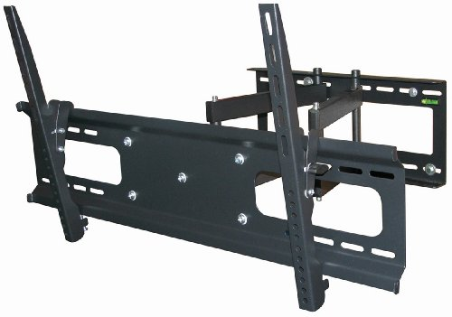 Monoprice Stable Series Full-Motion Articulating TV Wall Mount Bracket for TVs 37in to 70in, Max Weight 132lbs, Extensio