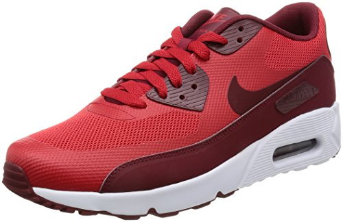Nike Air Max 90 Ultra 2.0 Essential, Écharpe Running Uomo Rosso (université Rouge / Blanc / Rouge Team)