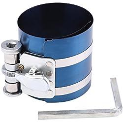 Qiilu Moteur De Voiture Piston Anneau Compresseur Installateur Bande Ratchet Kit D'enlèvement Piston D'installation Réglable Plier 53mm-125mm (3寸)
