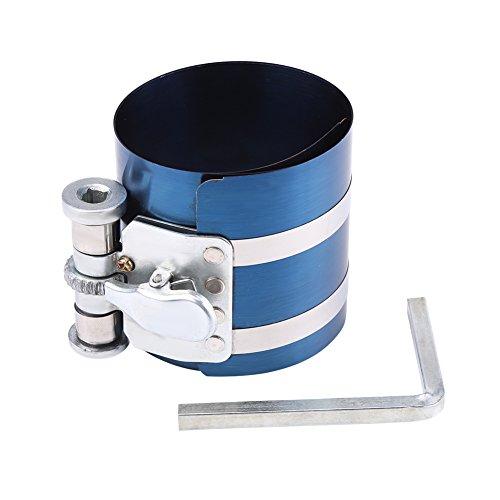 Qiilu Auto Motor Kolbenring Kompressor Installer Band Ratsche Werkzeug(3 zoll)