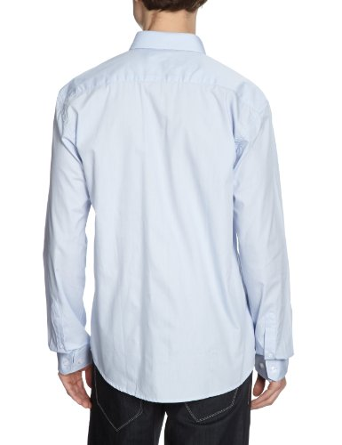 SELECTED Herren Langarmshirt 16025722 Blau (Light Blue)