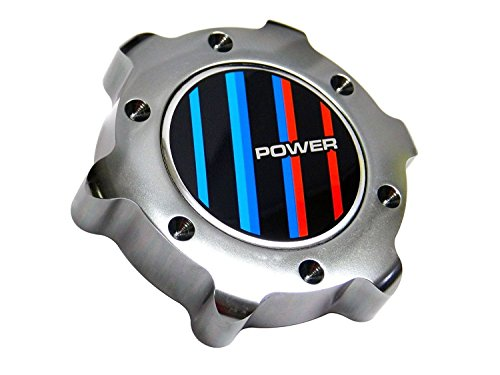 VMS Racing GUNMETAL Grey Gray Silver OIL CAP POWER BBRT Emblem in Billet Aluminum for BMW E38 E65 E66 E67 7 Series 740i 740il 745i 745il 750 750il 760i 760il 95 96 97 98 99 00 01 02 03 04 05 06 07 08