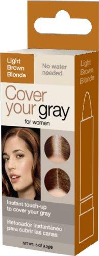 Cover Your gray Stick de retouche de la couleur des cheveux - Châtain clair-Blond - Mini boîte