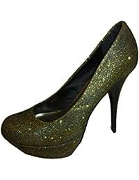 e3bc998f058eb7 Suchergebnis auf Amazon.de für  glitzer high heels - Schuhe  Schuhe ...