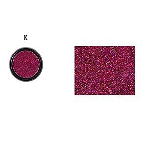 crear pagina web facil: YIHANK Paleta de sombras de ojos, 1 paleta de sombras de ojos con purpurina bril...