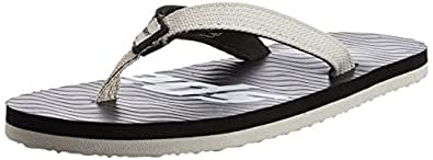 Sparx Men's  Grey and Black Flip-Flops and House Slippers - 10 UK/India (44.67 EU) (SF0204G)