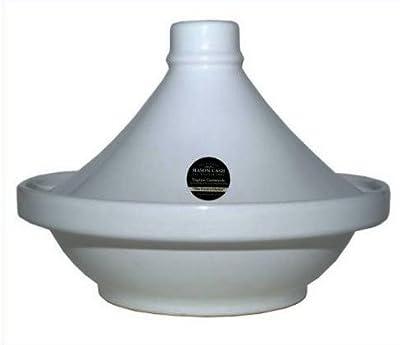 White Colour Mason Cash 28cm Decorated Tagine With 1.5 Litre Capacity