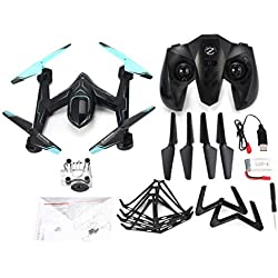 Ironheel Anello Protettivo, AG-01DP FPV 720P Fotocamera Selfie Altitude Hold Drone modalità Headless 3D Flip One Key Ritorno Hovering H / L Speed ​​RC Quadcopter