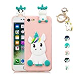 Kawaii-Shop Coque iPhone 6S Plus 6 Plus TPU Silicone Souple 3D Cute Licorne Animal...