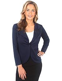 KRISP® Damen Elegante Business Blazer Jacke