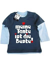 Dirty Fingers Meine Tante ist Die Beste!, Baby Skater Top Langärmlig